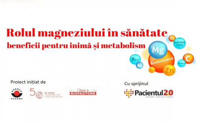 Rolul magneziului în sănătate – beneficii pentru inimă și metabolism