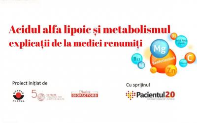 Acidul alfa lipoic și metabolismul – explicații de la medici renumiți